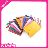 XBL Big Envelope Clutch Purse PU Leather Hand Bags 36*24cm
