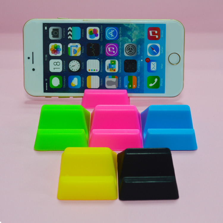 Wholesale Hot Sales portable gel pad mobile phone holder desktop hand