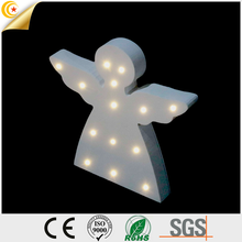 Superior quality eco-friendly high level MDF children bedroom angel night light