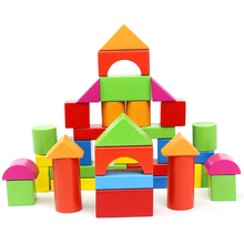 Educational Toys 3D Wooden Puzzle Eco Friendly Safety Giant Blocks for Kids
