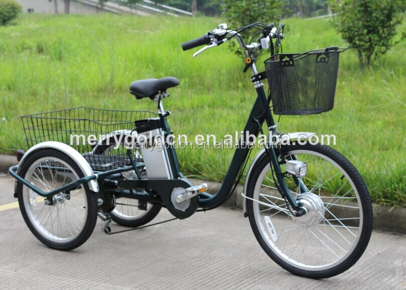 electric tricycle TC24 three wheel vehicle