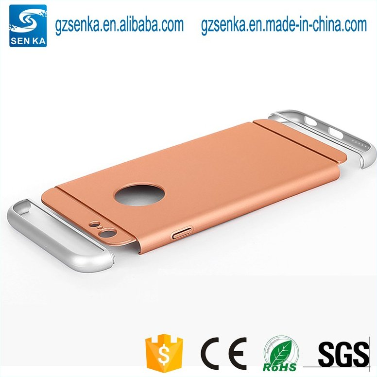 low price detachable plastic mobile phone cover for iPhone 7 case