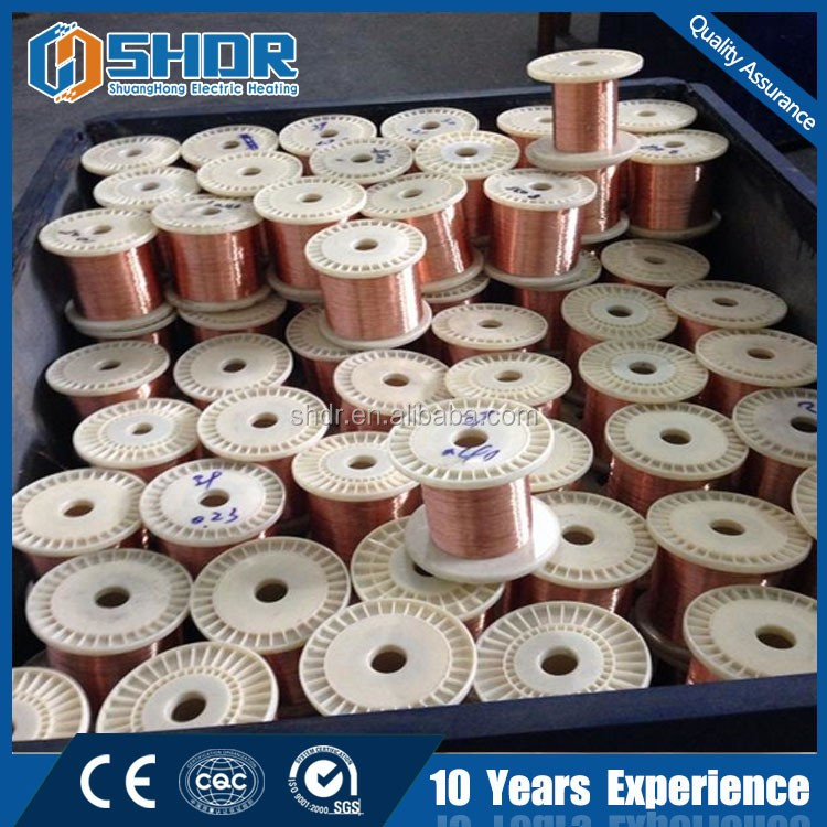 Copper nickel low resistant manganin resistance alloy wire CuNi19