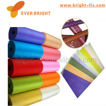 Hand craft 250g recycled non woven fabric stiker sheet for Floral Wrap