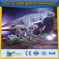 Amusement Park high quality inflatable walking dinosaur costumes dinosaur games