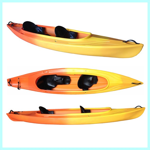 2015 new designed 3.9m length double sit in kayak