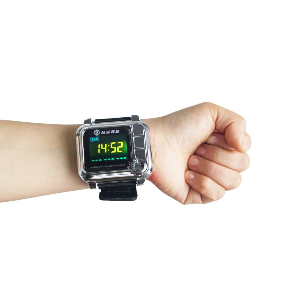 diabetes and hypertension wrist type laser treatment devices