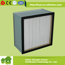 Extruded Aluminum Aluminum Sheet Industrial Box Filter Hepa H9