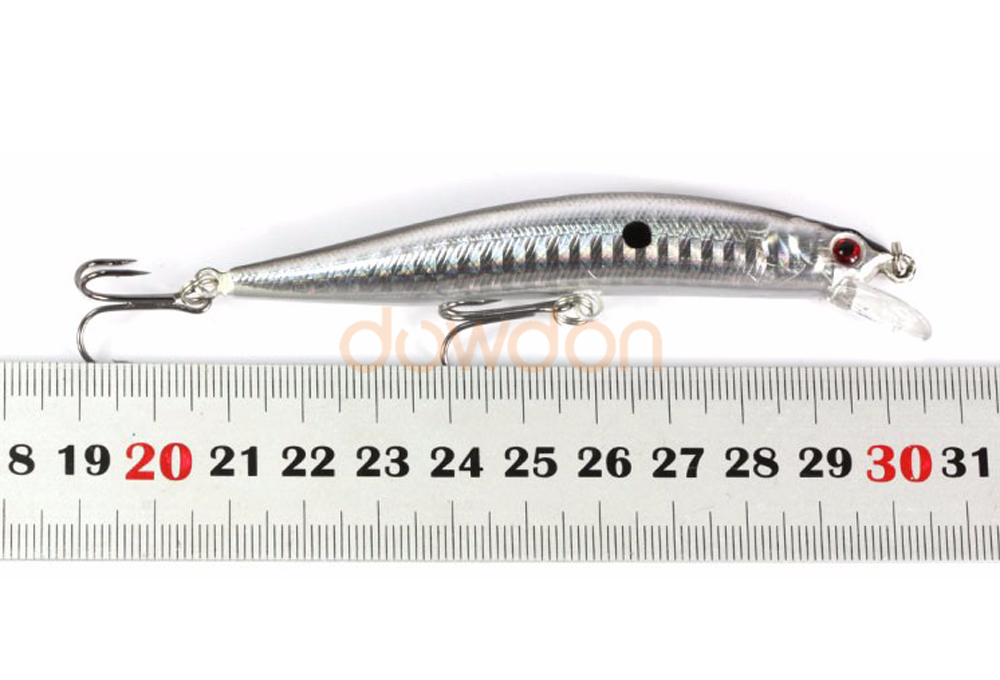 Shallow Diving Hard Plastic Minnow Stick Bait Saltwater Freshwater Fishing Tackle Lure