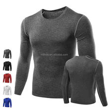 Cheap Wholesale Blank Hockey Men's Casual Compression Tee T-Shirts Gym Sport Bicycle Running Jersey Men Top Wholesale Custom
