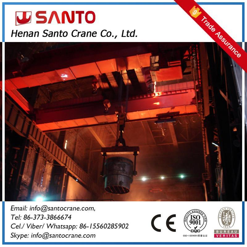 High Working Efficiency Concast Shop Using Overhead Crane