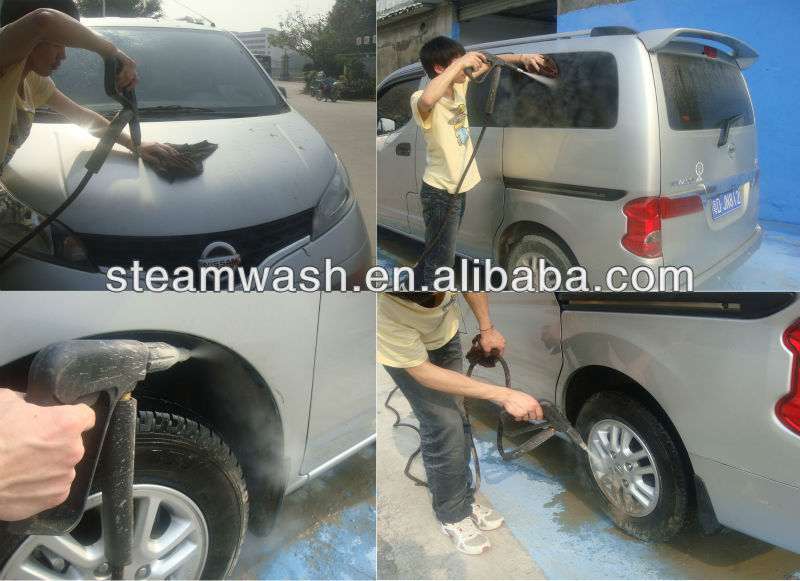 Diesel & Electric steam car wash