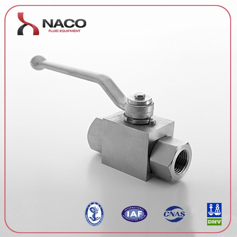 "500Bar 1/2"" NPT Female Thread Forged RB SS316 Ball Valve with Long Handle"