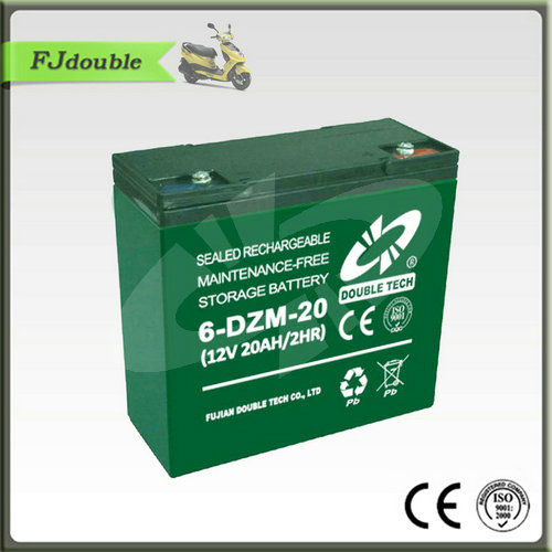 6-DZM-20 electric bicycle battery 12V20ah pack battery