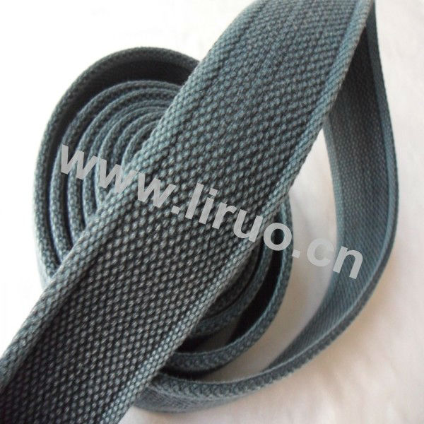 3.8cm Washed Vintage Webbing for belt