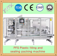 PFS plastic ampoule liquid filling and sealing machine