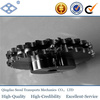 "ISO standard pitch 25.4mm 16A duplex roller chain 38T 1"" driven hub bore sprocket"