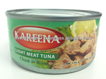 Canned Light Meat Tuna Chunk in Vegetable Oil (170 g)