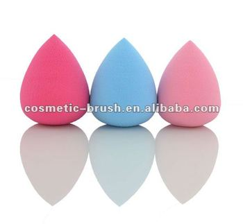 Beautiful Water Droplets pink makeup sponge stick