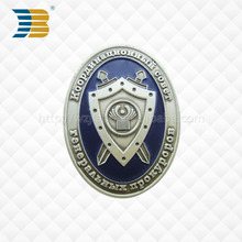 antique color optional 3D Alloy Metal custom Emblem military Badge