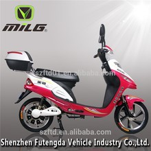 MiLG -XYH classical electric scooter with pedals assist