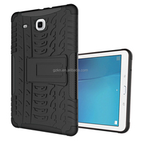 Stand keyboard TPU armor case for Samsung Galaxy Tab E 9.6 bumper Protector