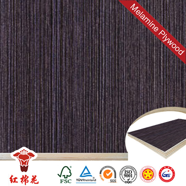 Best concrete imprint black film faced plywood with price Red Kapok