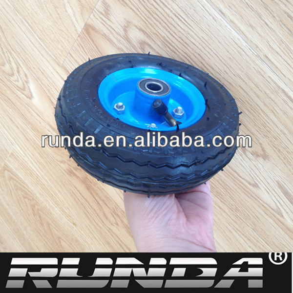 7 inch rubber wheel for toy