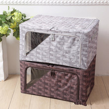 New Design 600D Oxford Foldable Storage Box Home Storage & Organization Collapsible Containing Bins Factory Price