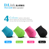 Newest Mini Portable Outdoor Sport Stereo Bass Wireless Bluetooth Speaker with Hook