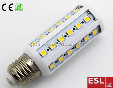 6W LED Corn Light 360degree 35pcs SMD5050 E27 led bulb 600LM CC Driver 85-265V