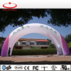Custom inflatable double tube logo printing arch tent