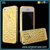 New Unique 3D Bling Diamond Sunflower Phone Cases For iPhone SE/5S TPU Case