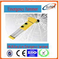 Multifunction Emergency Safety Hammer with Seat belt Cutter