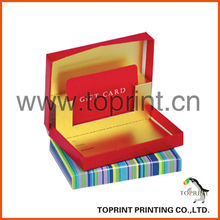 Gift card packaging boxes manufacturers, suppliers, exporters