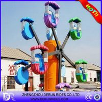 Excellent quality unique kids tourist ferris wheel cars