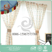 Best selling Hotel use Print small door window curtains
