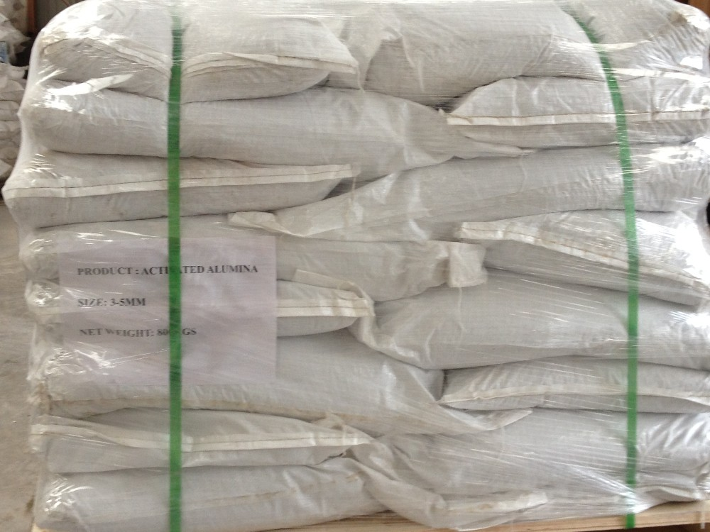 Activated Alumina desiccant for drying of instruments