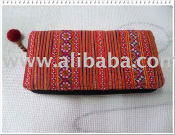 Women Purse Hilltribe Hmong Embroidered