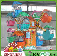 Children Amusement Park Equipment Indoor Electric Ferris Wheel Games