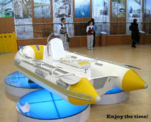 Cheap Fiberglass Hull Rib Boat with CE Rigid Hull Inflatable Boat china rib boats