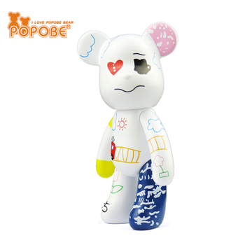 Wholesale PVC Bear POPOBE Brand For Phone Stand And Decoration Promotion Gifts