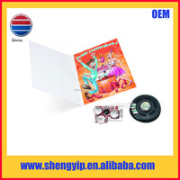 sample gift birthday recordable greeting card with sound module