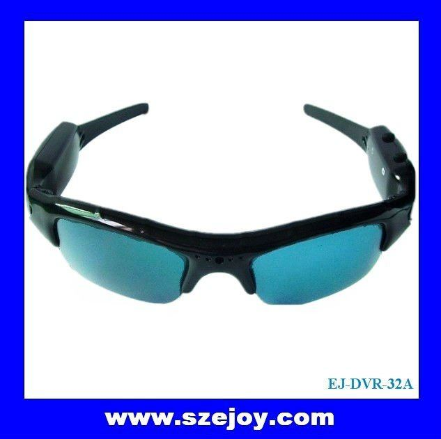 Hot summer polaroid sunglasses camera EJ-DVR-32A