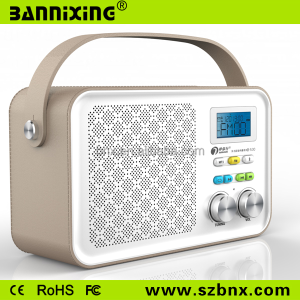 B-533 bluetooth speaker with fm radio speaker with usb port