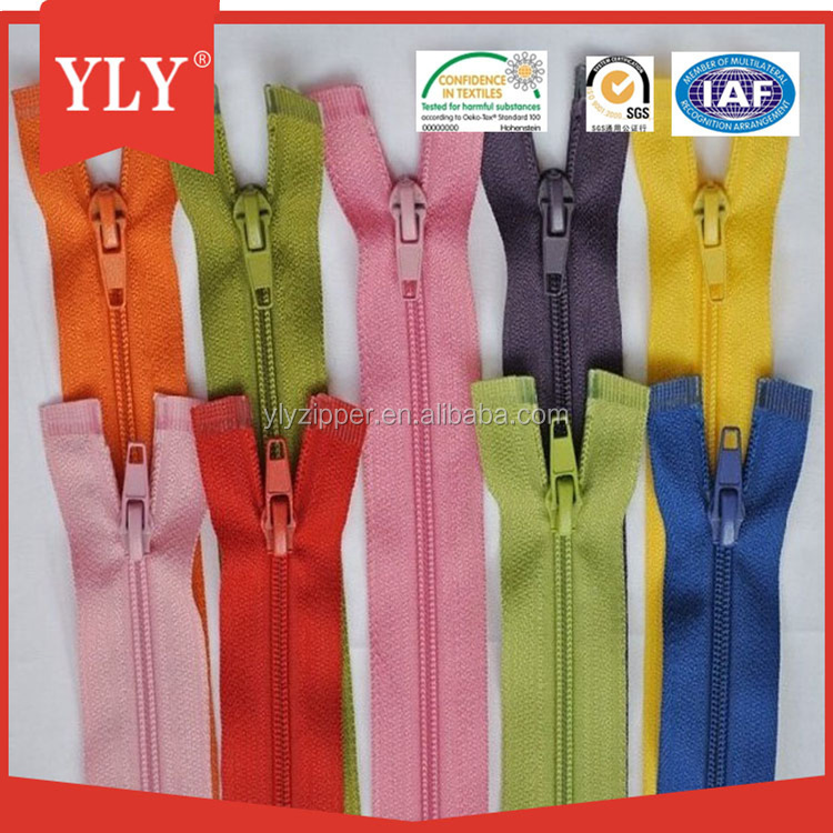 Nice Colored Tape Nylon Zipper Strong Smooth Teeth Wholesale