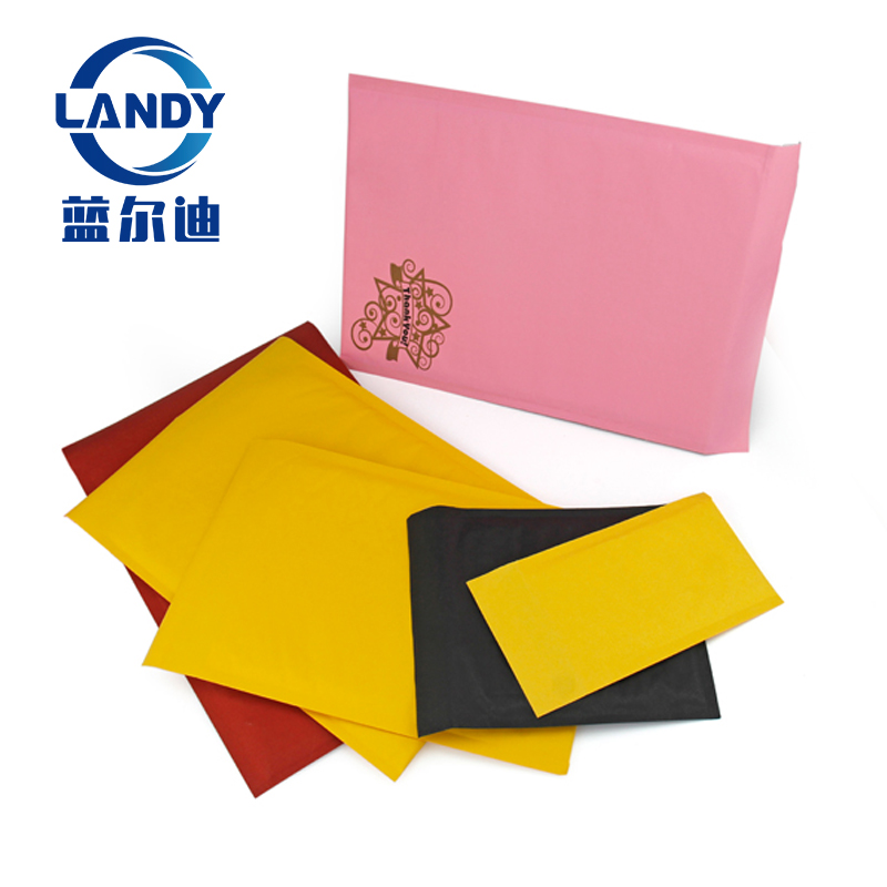 Pink padded mailer pe mail bag,yellow black pink padded mailers