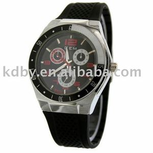 2012 Trendy Cheap Silicone Sport Watches Men