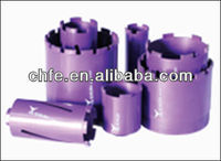 CORE DRILL BITS FOR DRY CUTTING