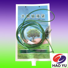 Tree planting plastic bags Tree Nutrition Infusion Bag with hang holes with spout